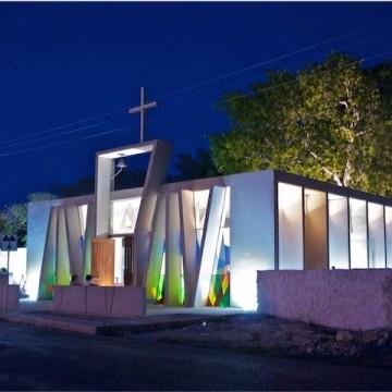 Iglesias para Bodas en Mérida: Capilla Temozón Norte